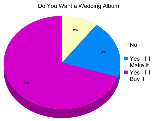 graph1 - Pro Albums vs. Do-It-Yourself | What are Modern Brides Doing with Their Photos?