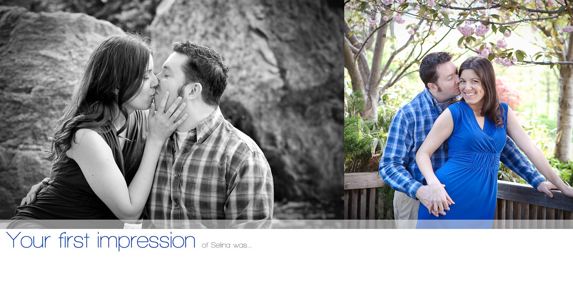 004005 - Selina & Will | Custom Guestbook Album Design