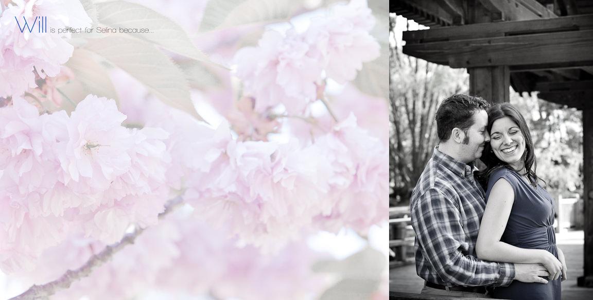 014015 - Selina & Will | Custom Guestbook Album Design