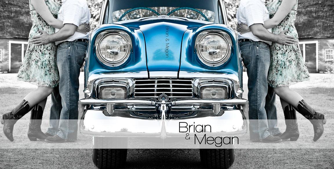 000000 - Brian & Megan | Custom Guestbook Design