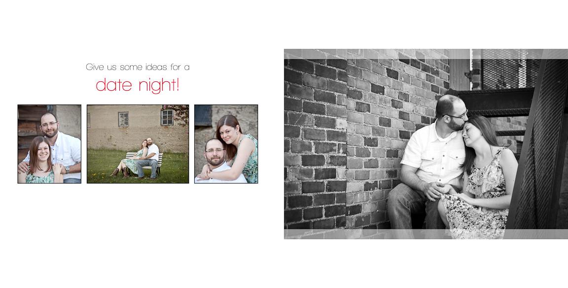 014015 - Brian & Megan | Custom Guestbook Design
