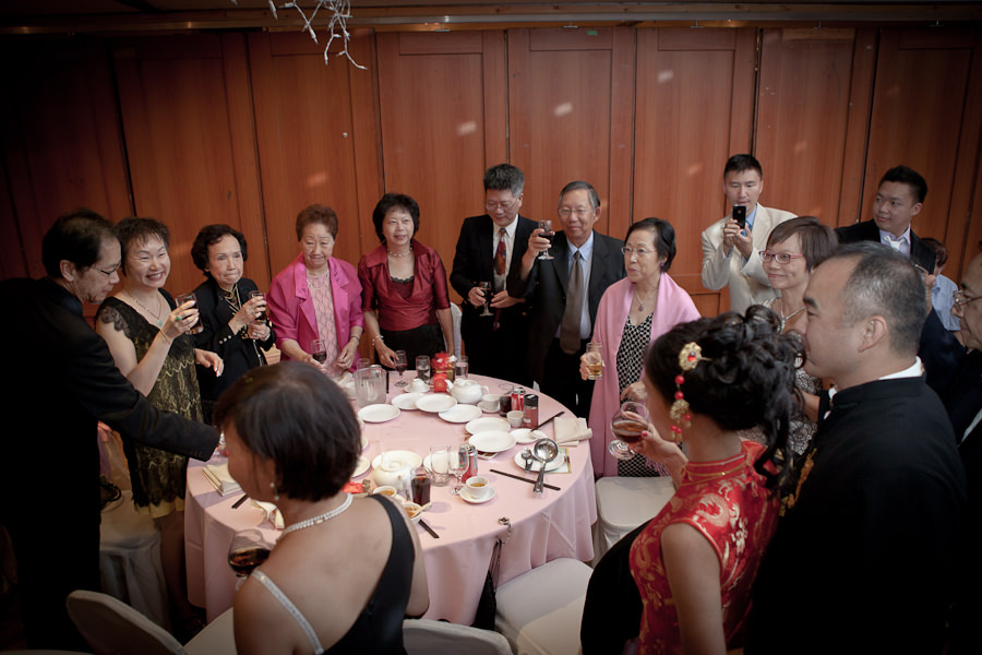 "Wedding Reception Photography: Taking ""Table Shots"" of your Guests"