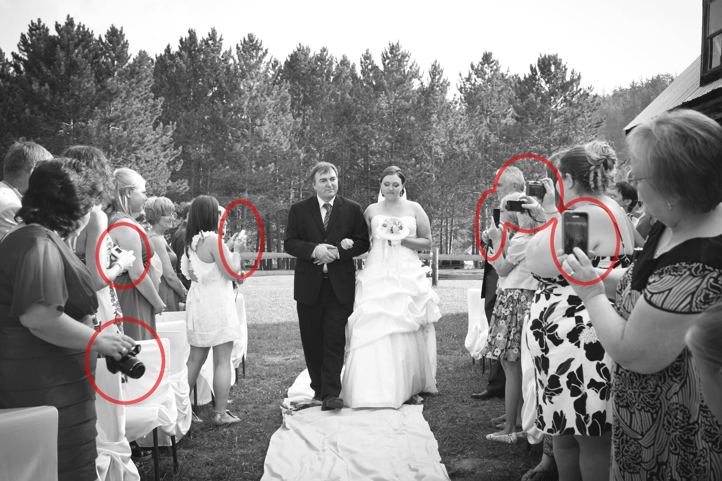 unplugged weddings  protecting your photography investment