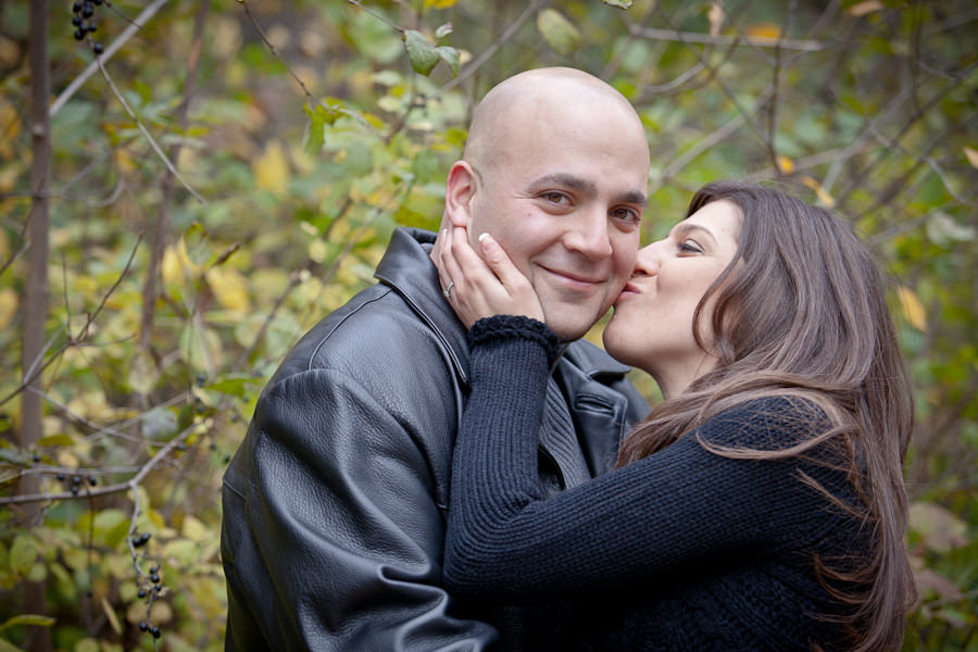 high park engagement photography