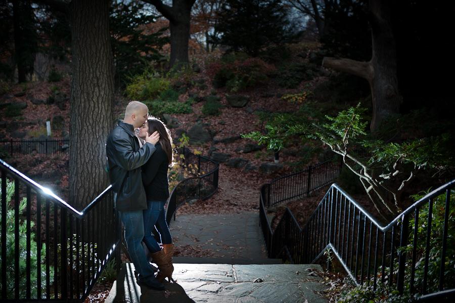 high park engagement photography