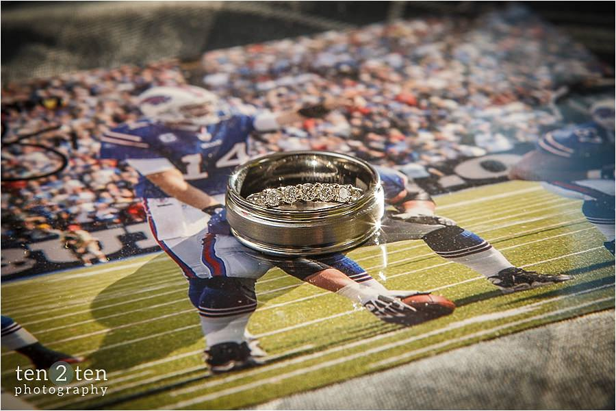 football wedding, football themes wedding, best toronto wedding photographer, best vaughan wedding photographer, buffalo bills wedding
