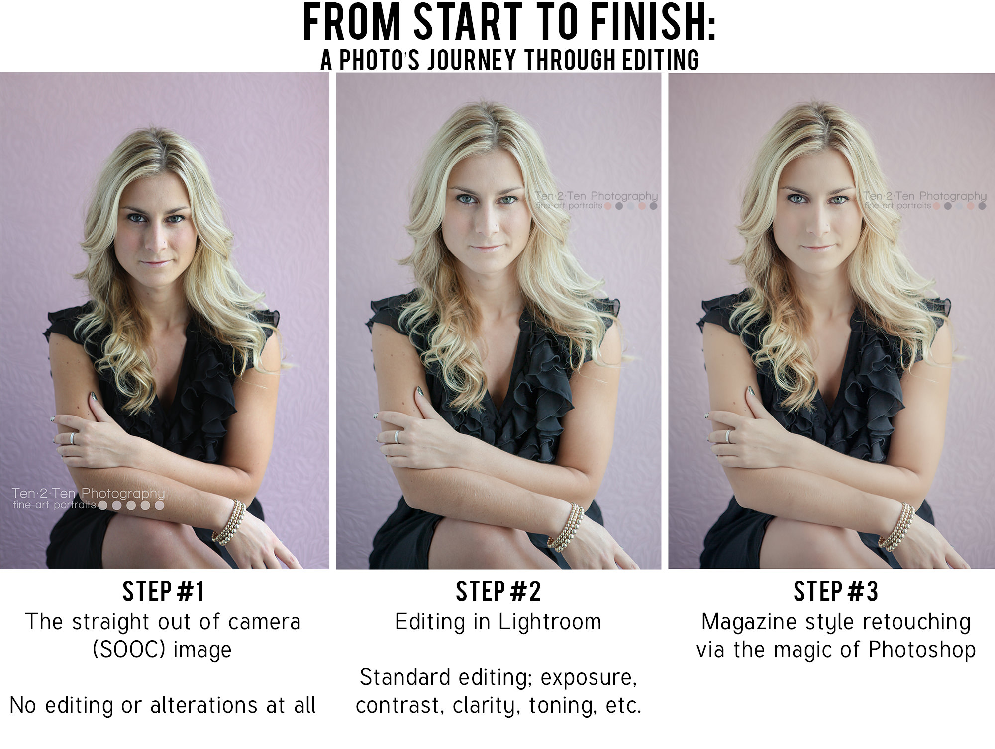 how to edit a picture by toronto glamour photographer ten2tenphotography