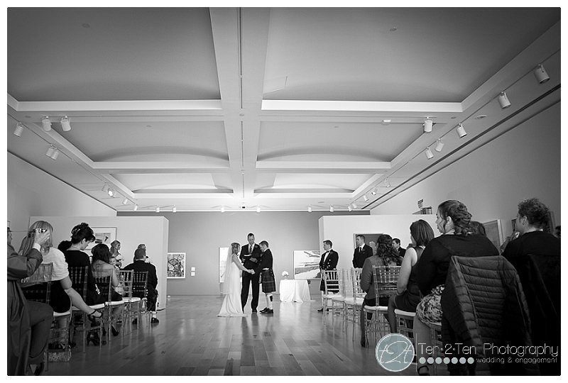 Sarah + Ryan: McLaughlin Gallery Wedding Photography