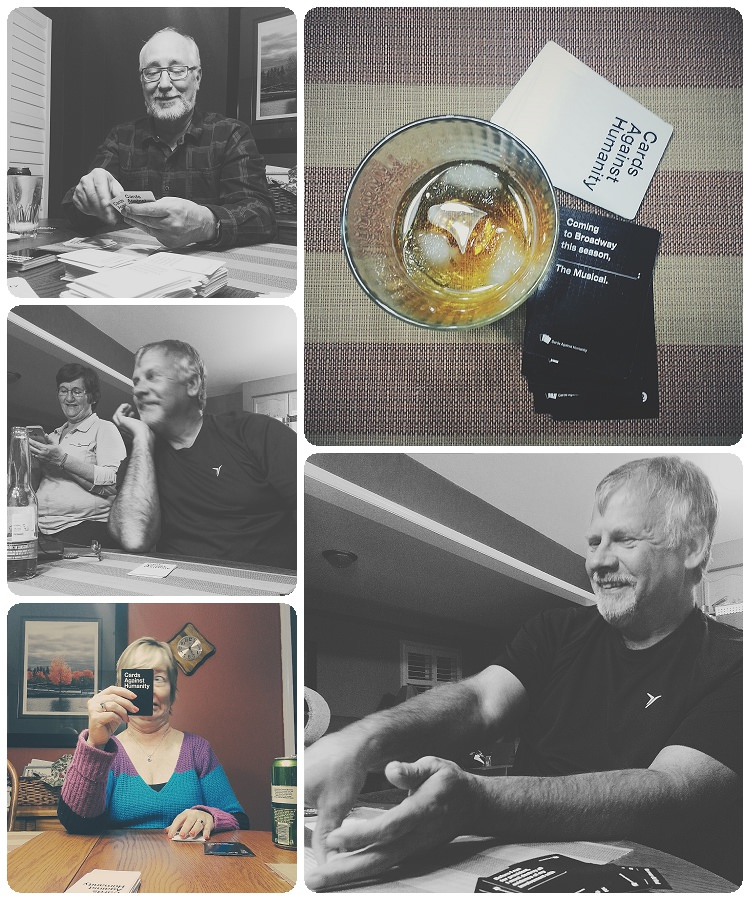 cards against humanity, family time, vsco for android, new vsco