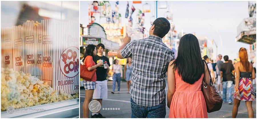 CNE engagement photos by Ten·2·Ten Photography
