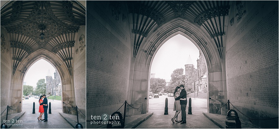 university of toronto engagement, u of t engagement, u of t engagement photos, knox college engagement, uoft engagement
