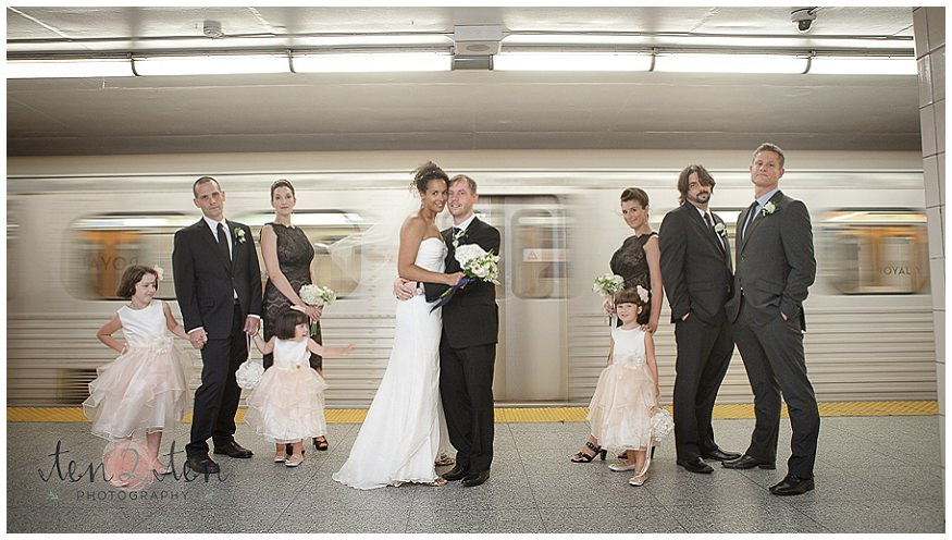 Unique Photography Locations In Toronto Indoor Ttc Wedding Photos