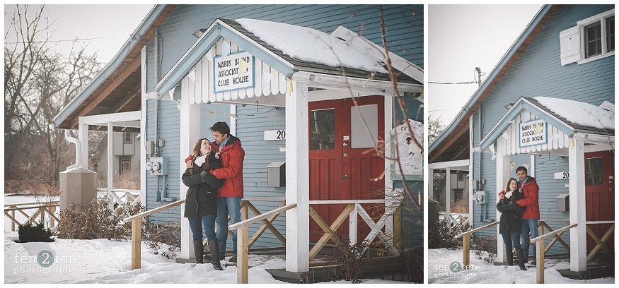 toronto island, toronto island engagement, unique photography locations in toronto, toronto photography locations, winter engagement photos