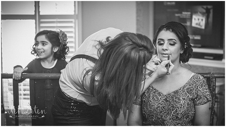 getting ready photos, bride getting ready, indian bride getting ready, rachel renna makeup, best toronto wedding photographer