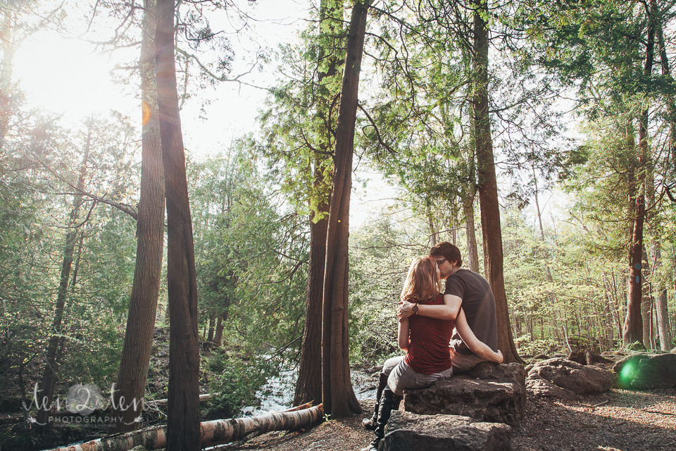 Hilton Falls Conservation Area Engagement Photos: Toronto Wedding Photographer Ten·2·Ten Photography