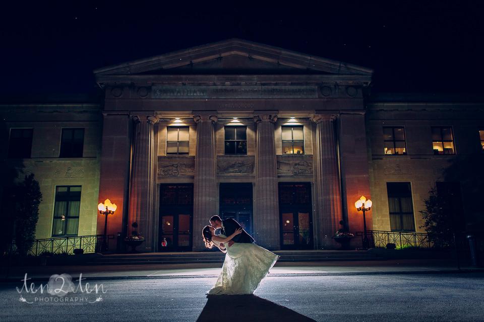 Liuna Station Wedding Photos: Amy & Fernando