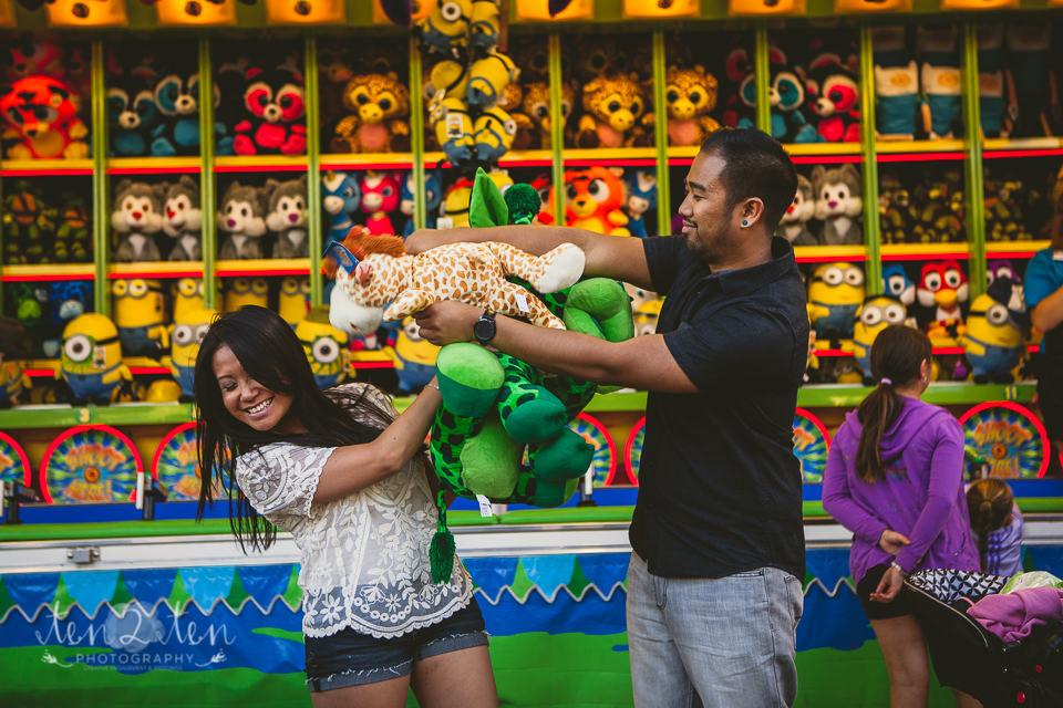 cne engagement, cne engagement shoot, cne engagement photos, engagement session at the cne, engagement shoot at the ex