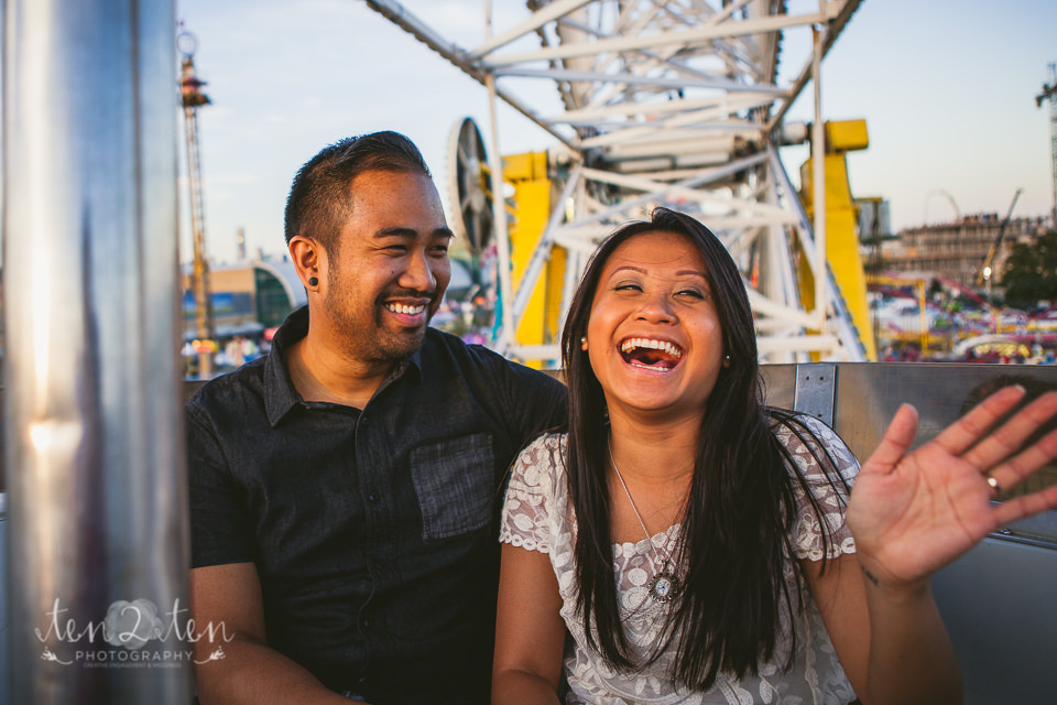 cne engagement photos 96 - CNE Engagement Shoot // Toronto Wedding Photographer