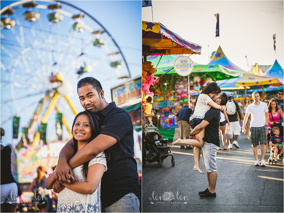 cne engagement photos 0017 - CNE Engagement Shoot // Toronto Wedding Photographer