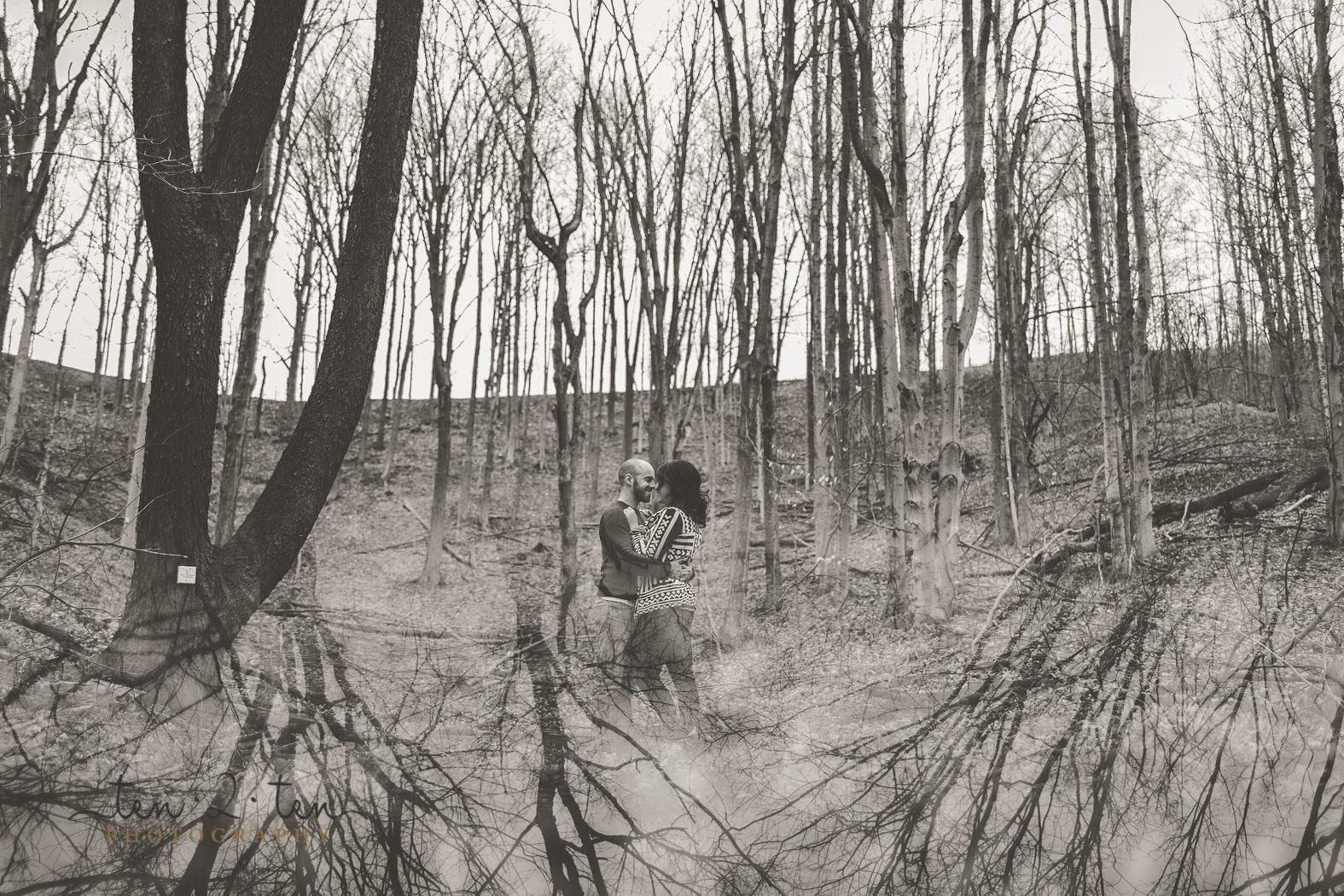 ymca glen cedar engagement photos, ymca glen cedar, rustic toronto engagement photos, nobleton engagement photos, ten2ten photography