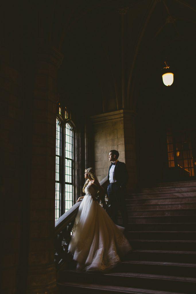 knox college wedding photos