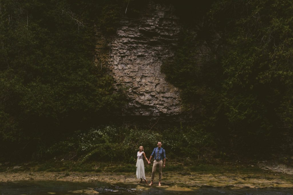 elora gorge engagement photos 26 e1497815295735 1024x683 - The Average Cost of Wedding Photography in Toronto