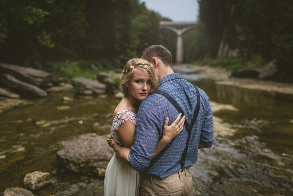 elora gorge engagement photos 32 e1497815260712 1024x683 - The Average Cost of Wedding Photography in Toronto
