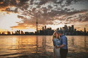 The Toronto skyline has never looked so romantic  Capturedhellip
