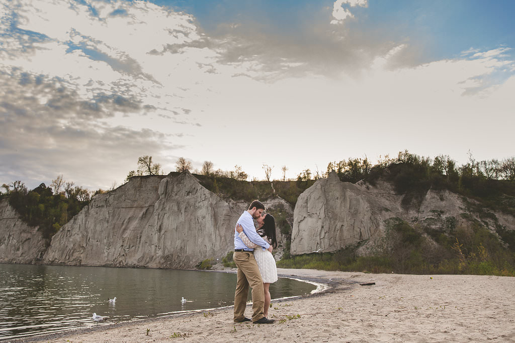 scarborough bluffs engagement, scarborough bluffs engagement photos, toronto wedding photographers, photography locations in toronto