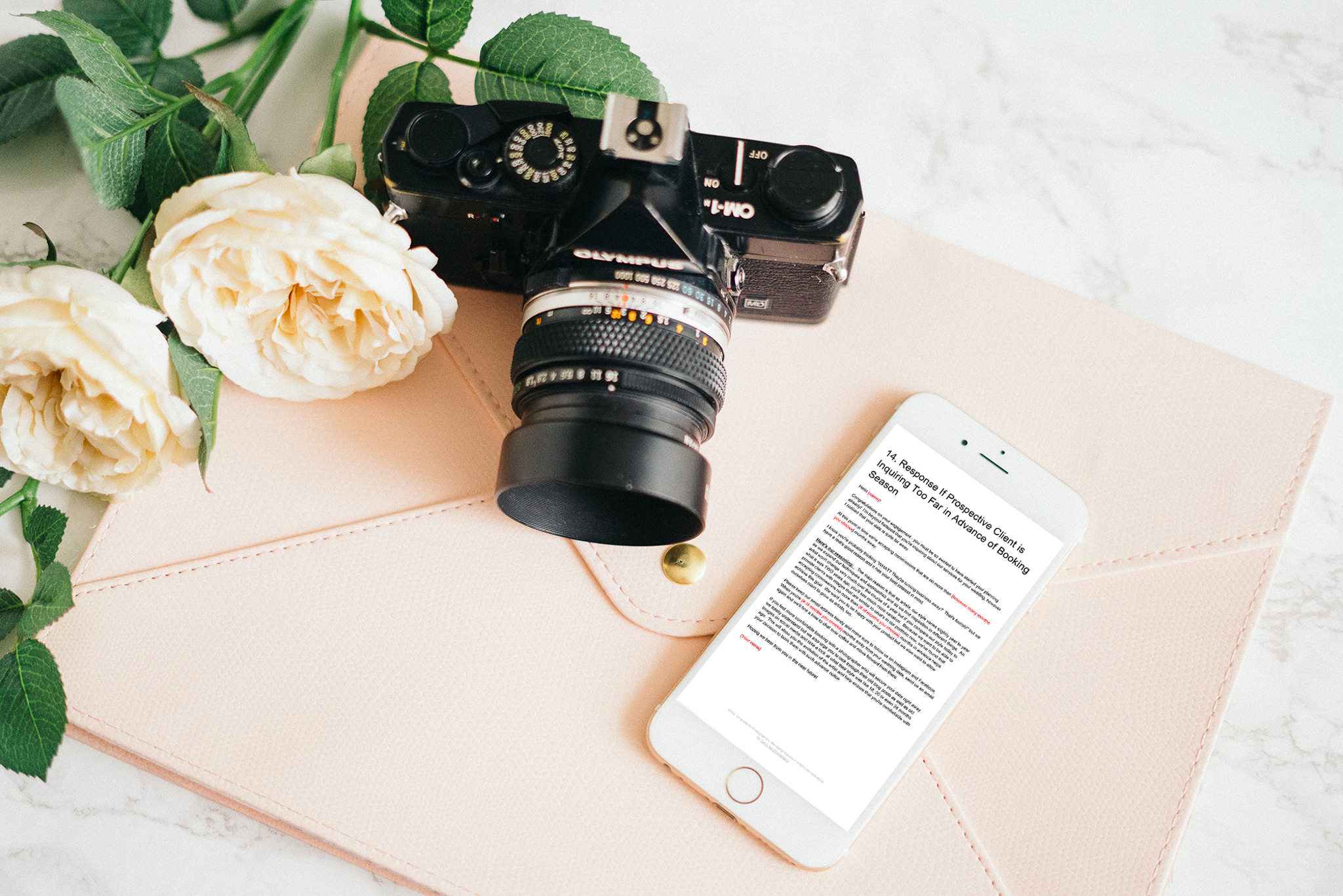 email templates for photographers 5 - Contract Contents + Guidelines