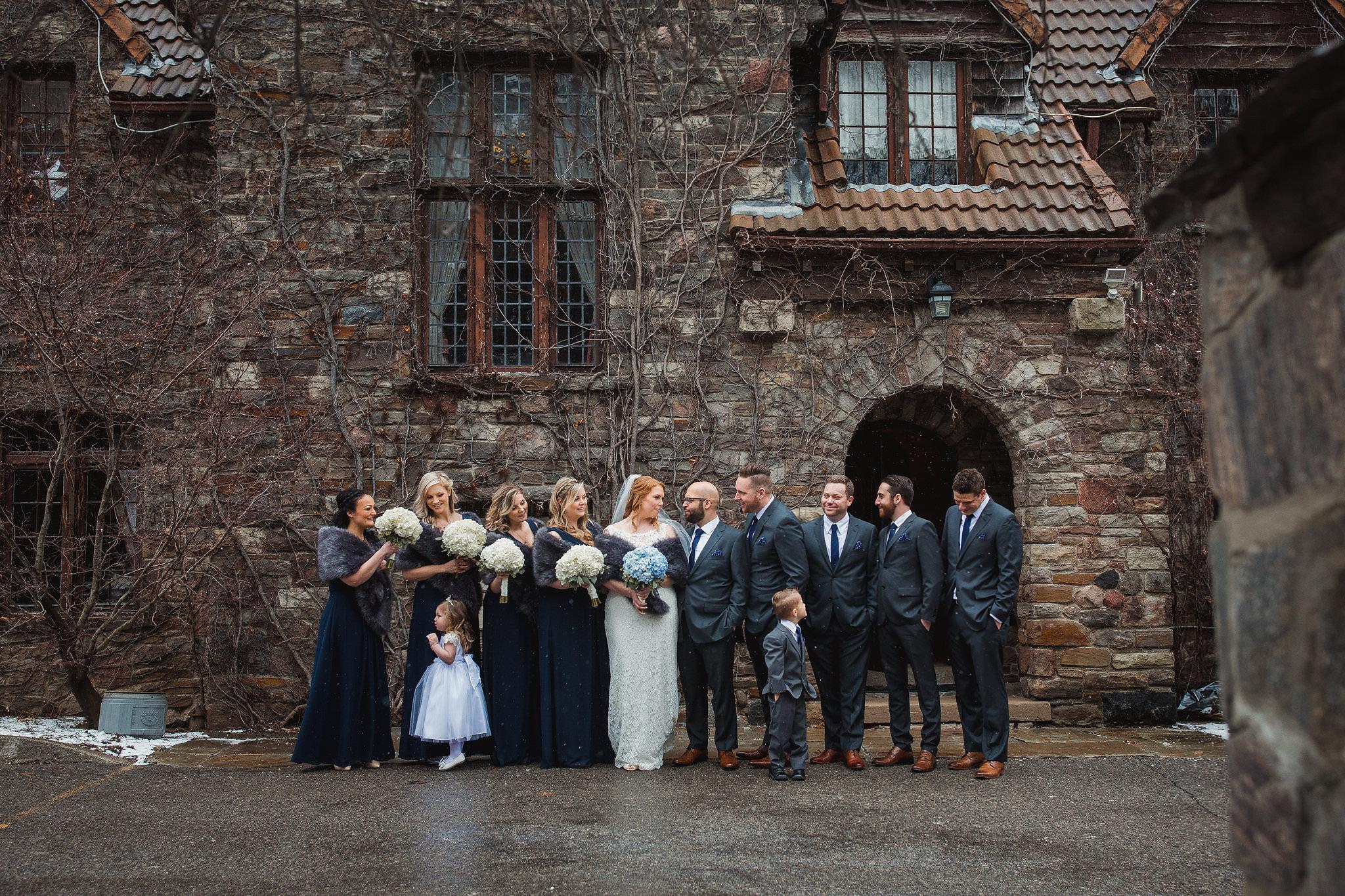 wedding party photos bob rumball manor