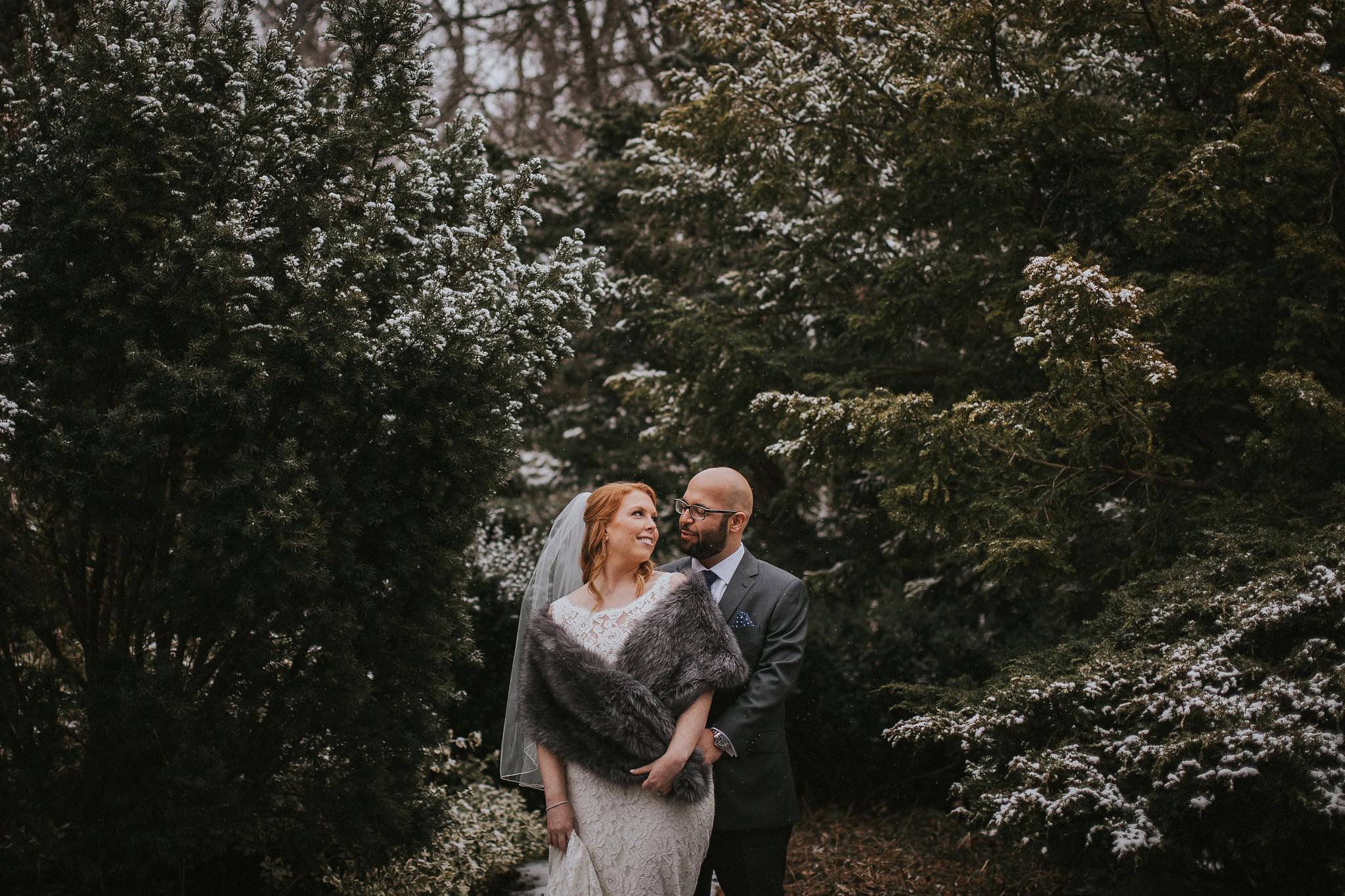 winter wedding toronto