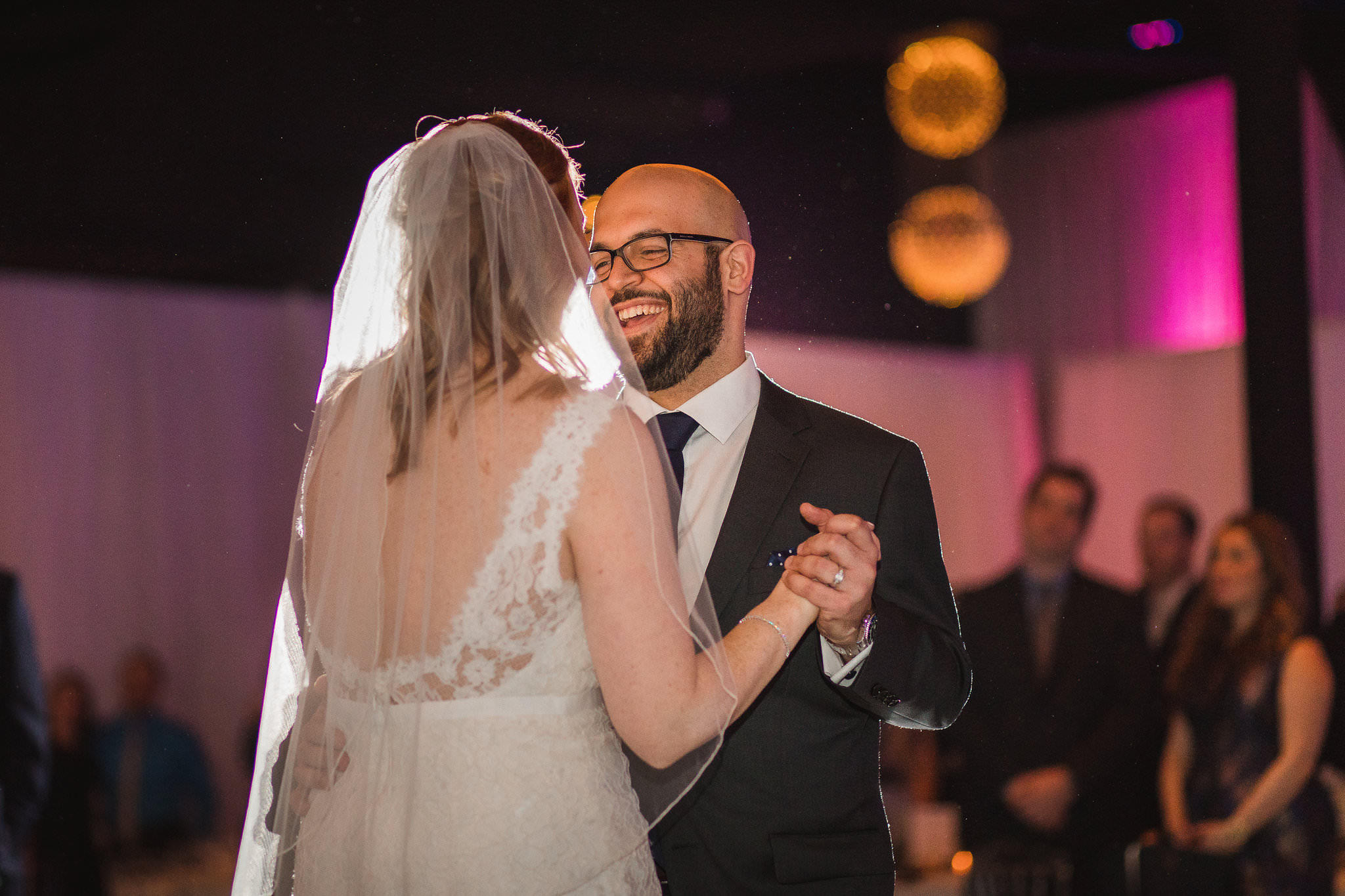 york mills gallery wedding first dance