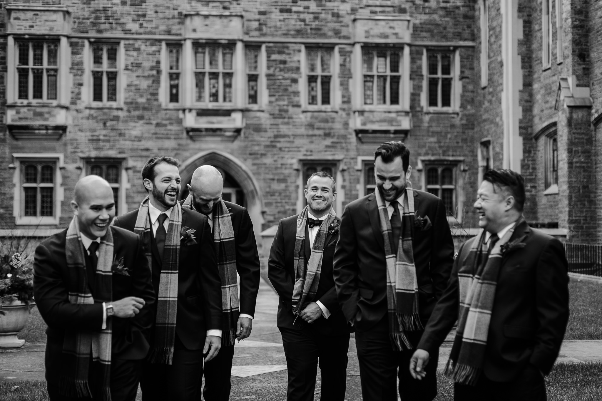 hart house winter wedding