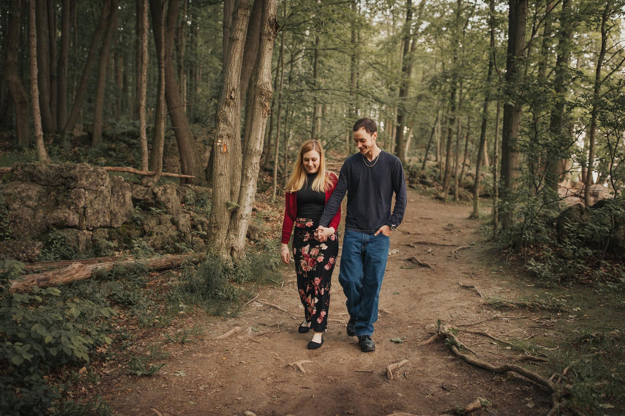 scenic engagement photos in toronto