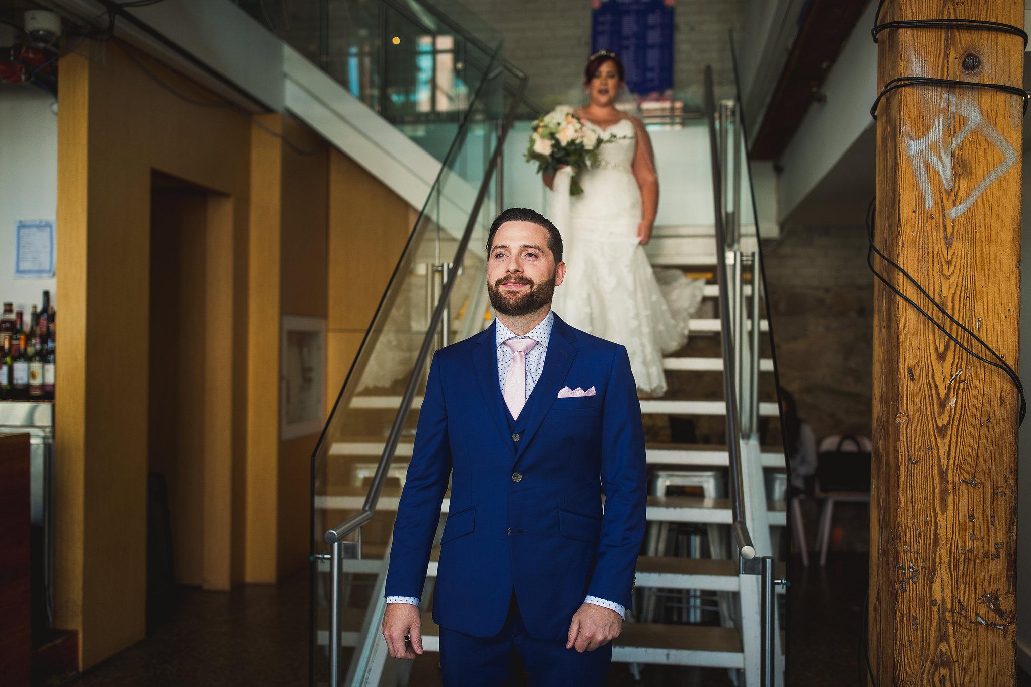 hotel ocho wedding first look
