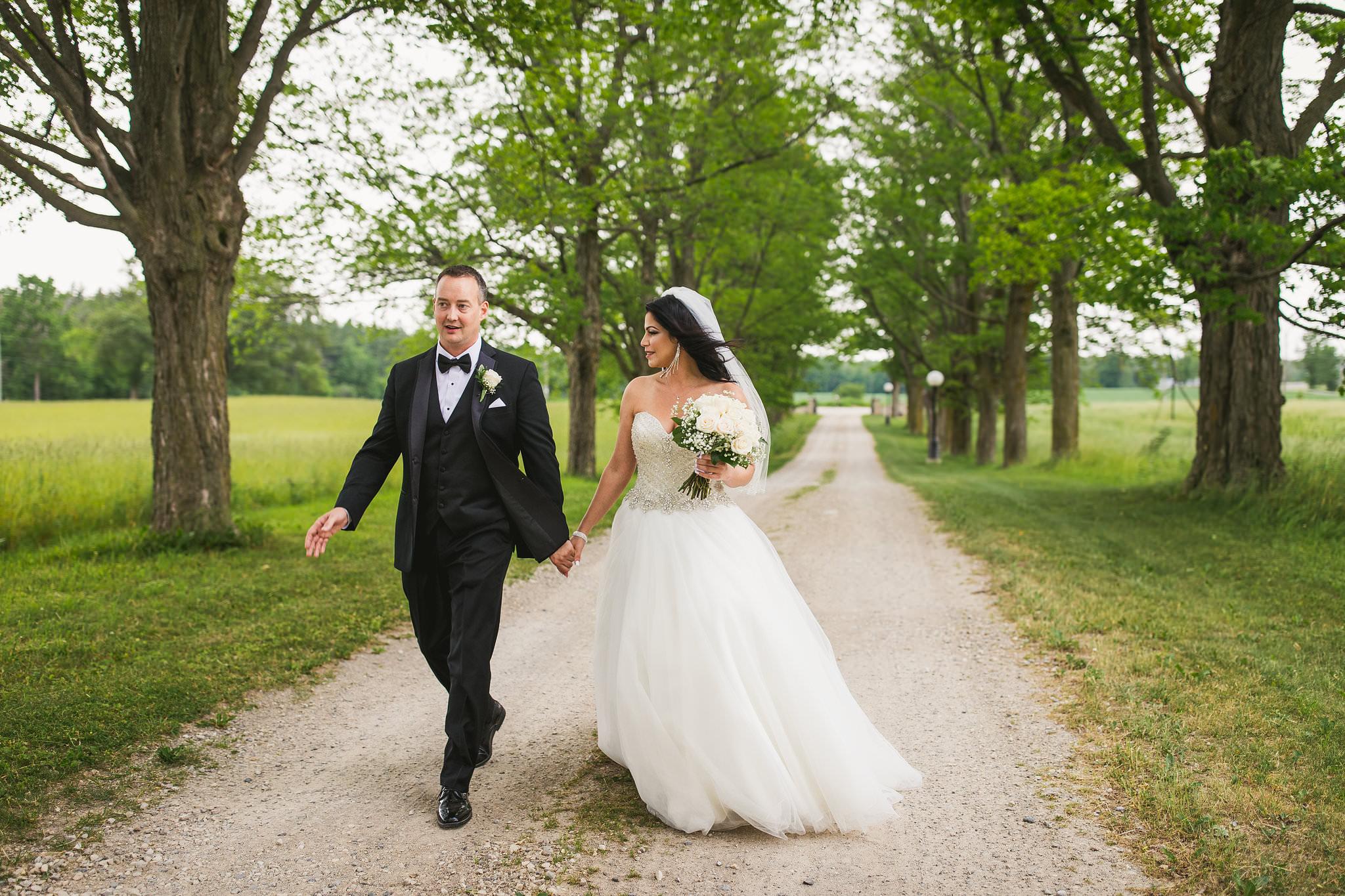 puslinch barn wedding