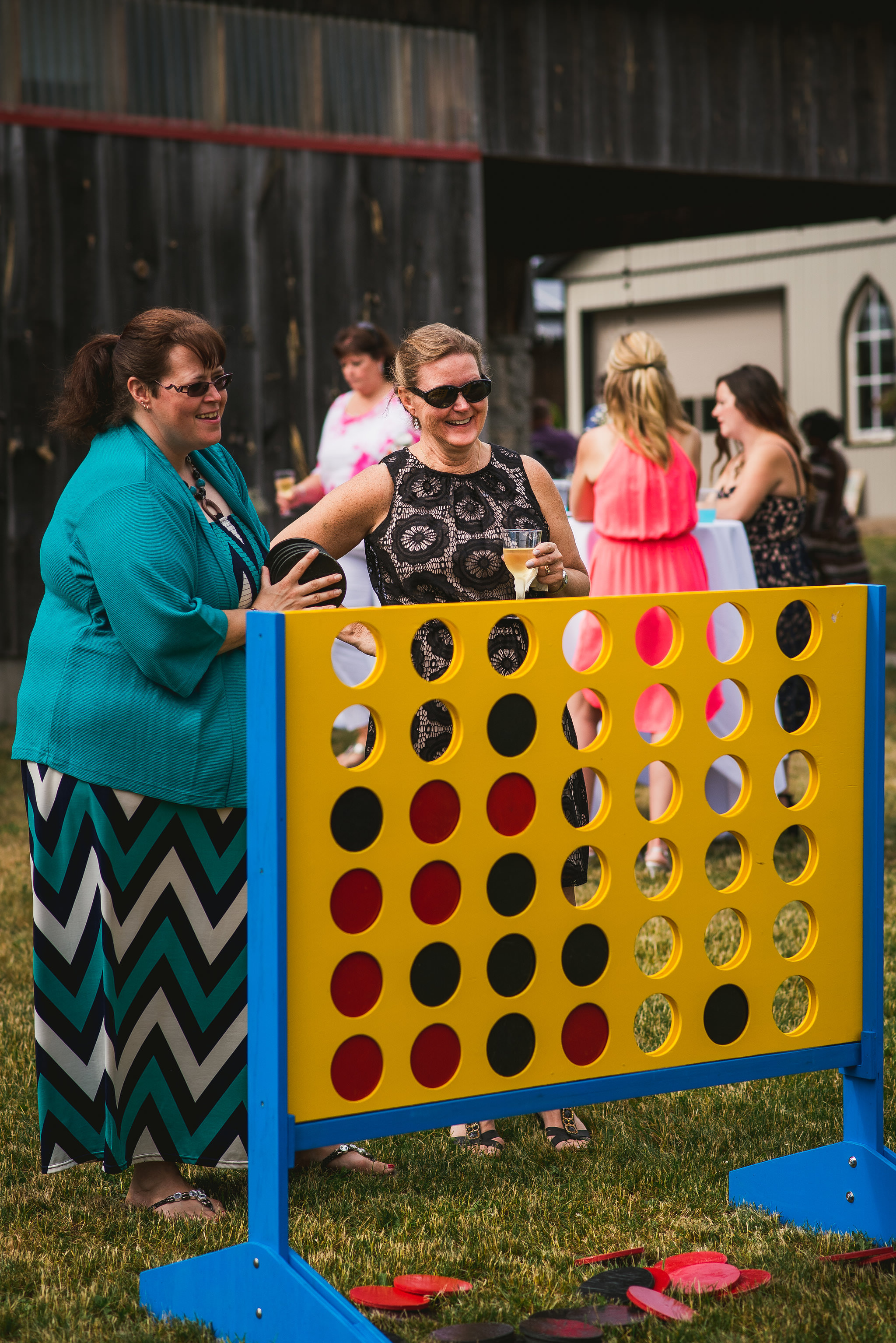 giant party games for wedding reception