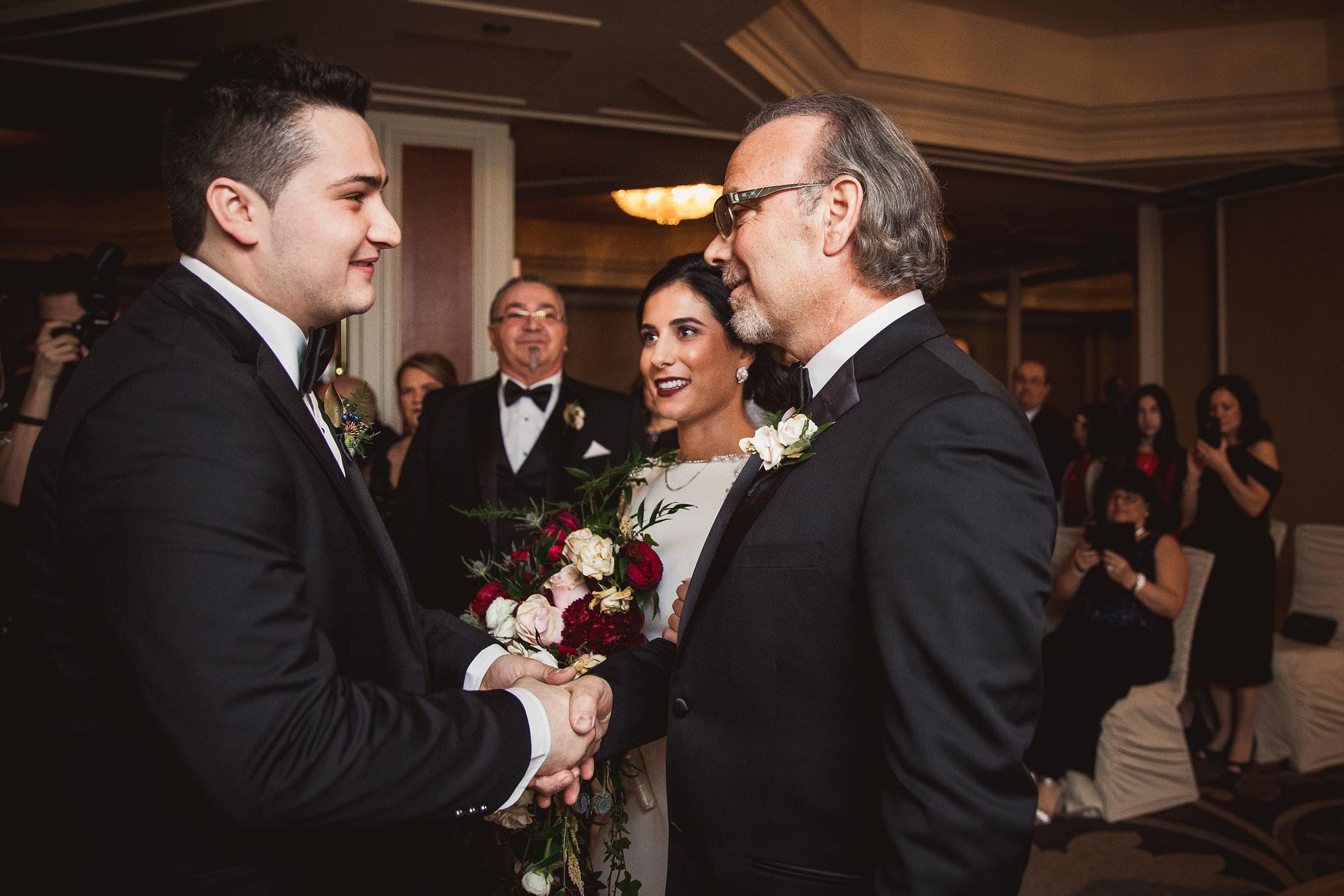 Rebecca Michael King Edward Hotel NYE Wedding Photos 505 - King Edward Hotel Wedding Photos