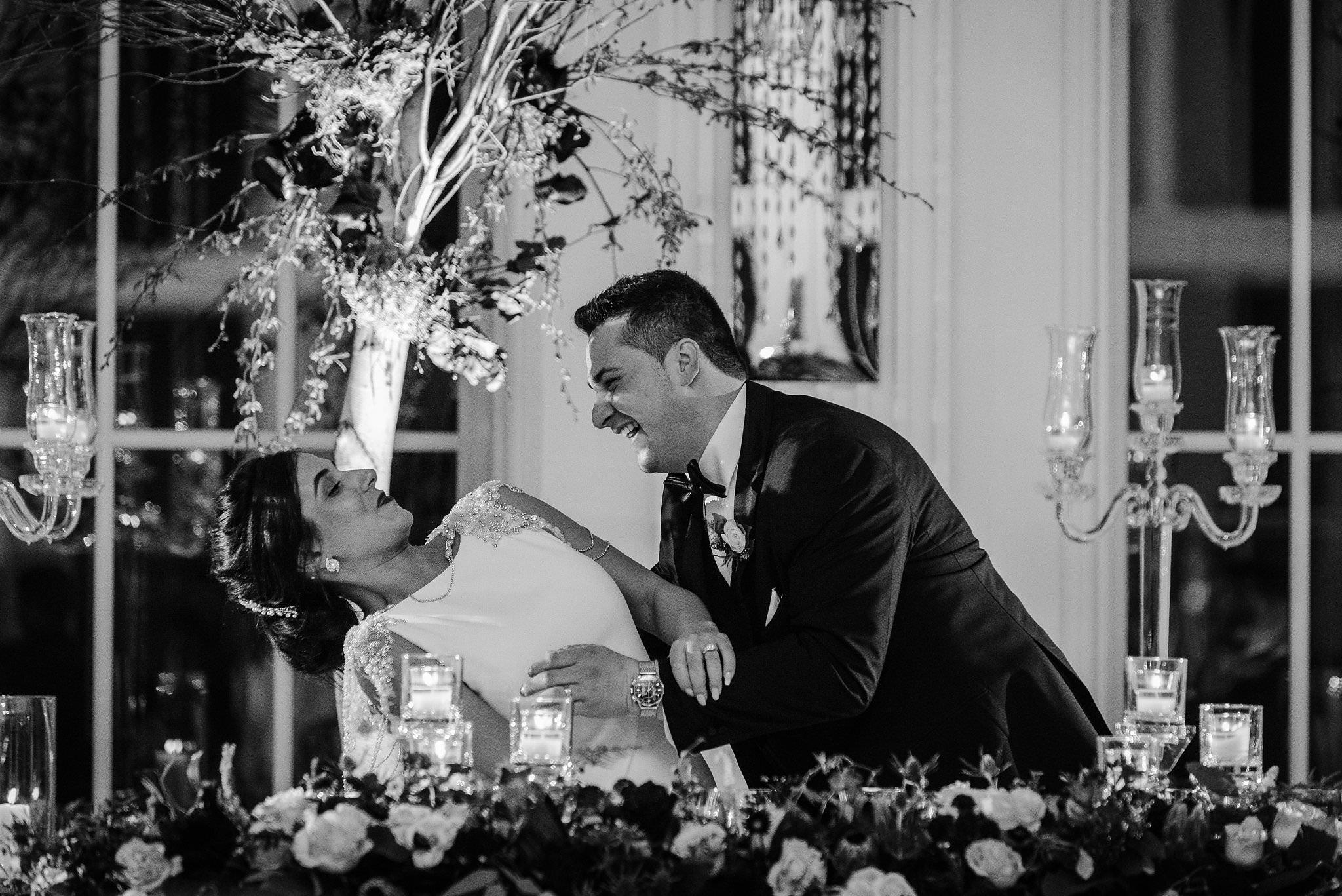 wedding reception photos king edward hotel