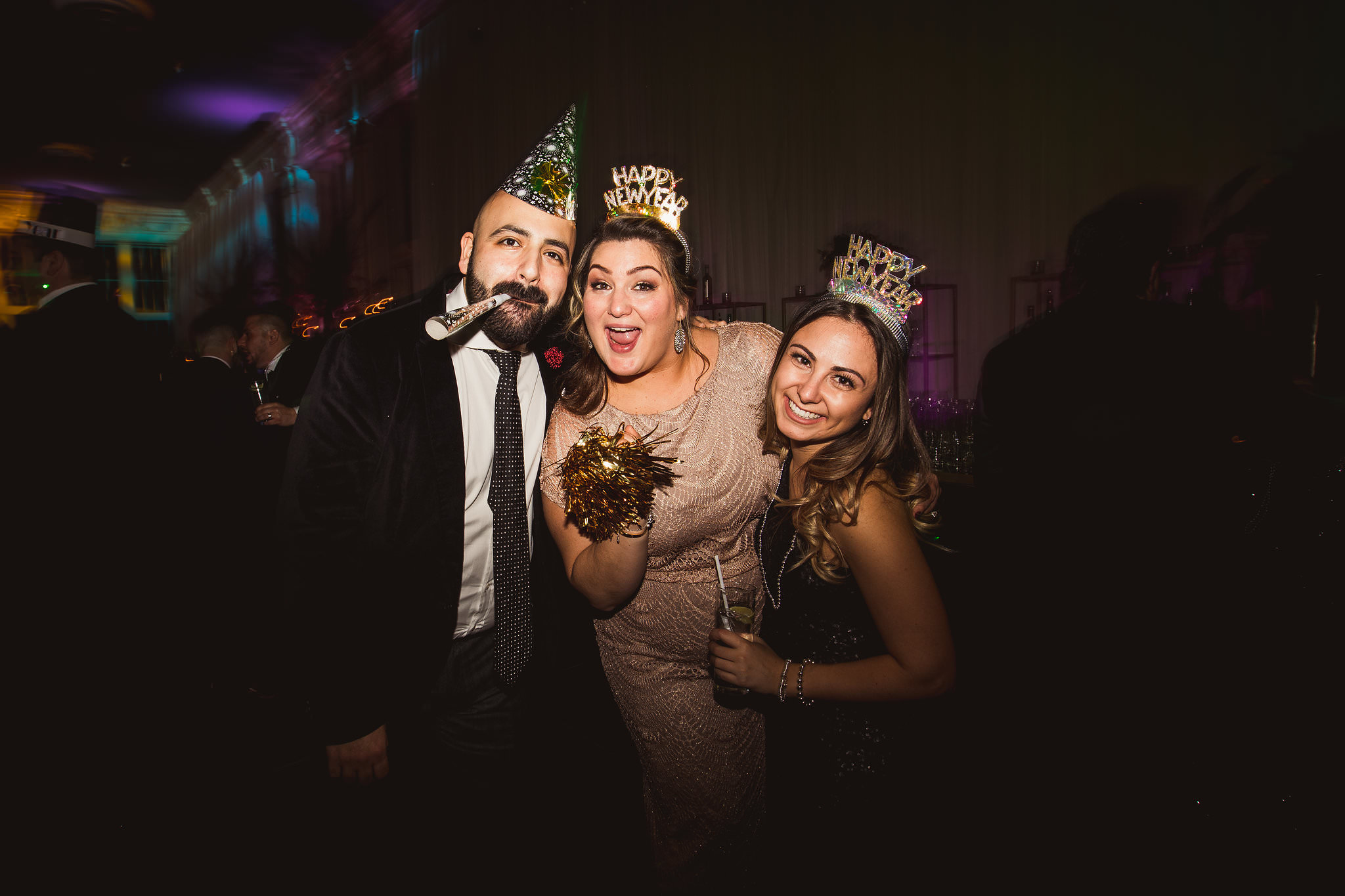 new years wedding photos