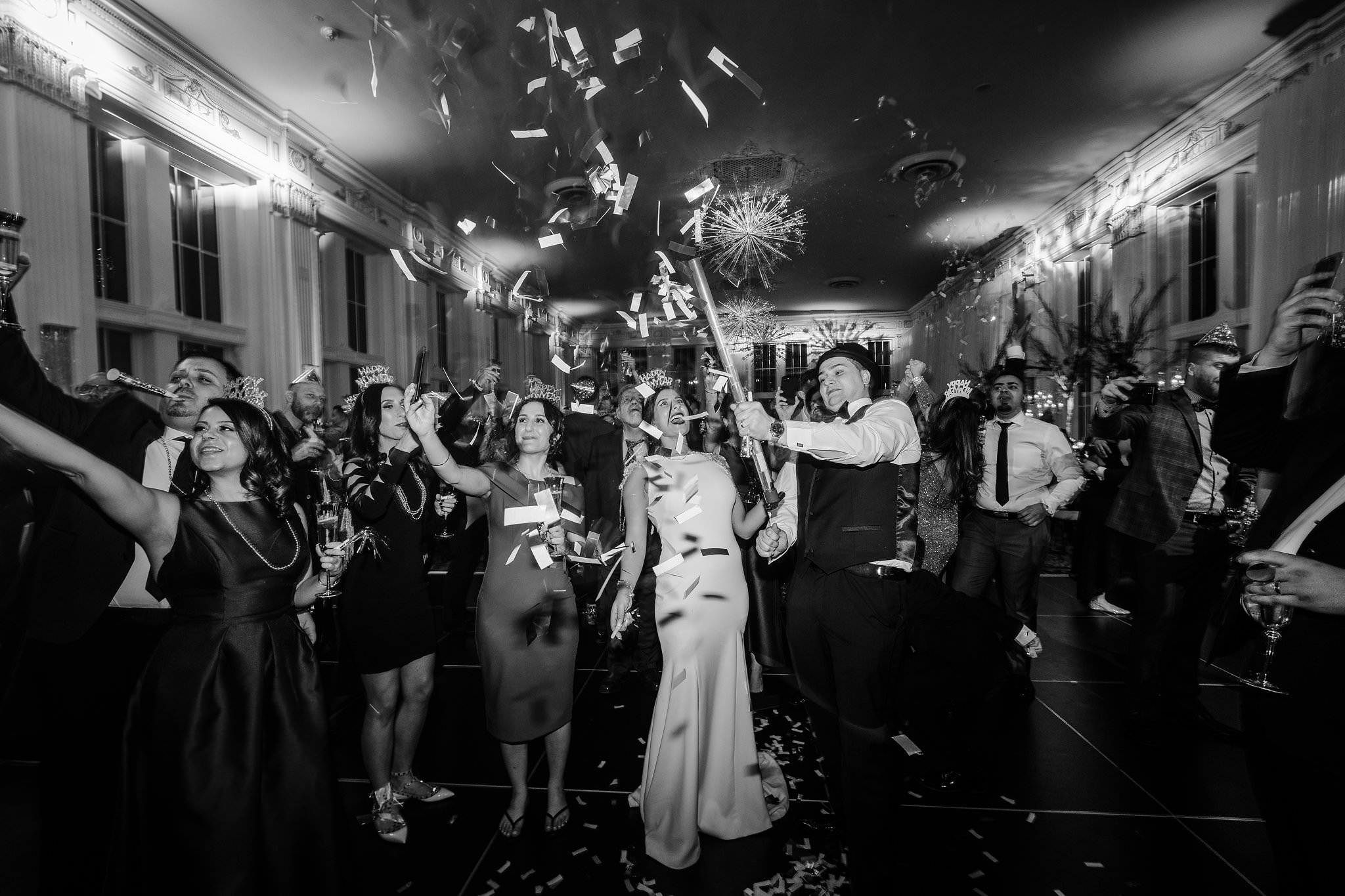 new years eve wedding pictures