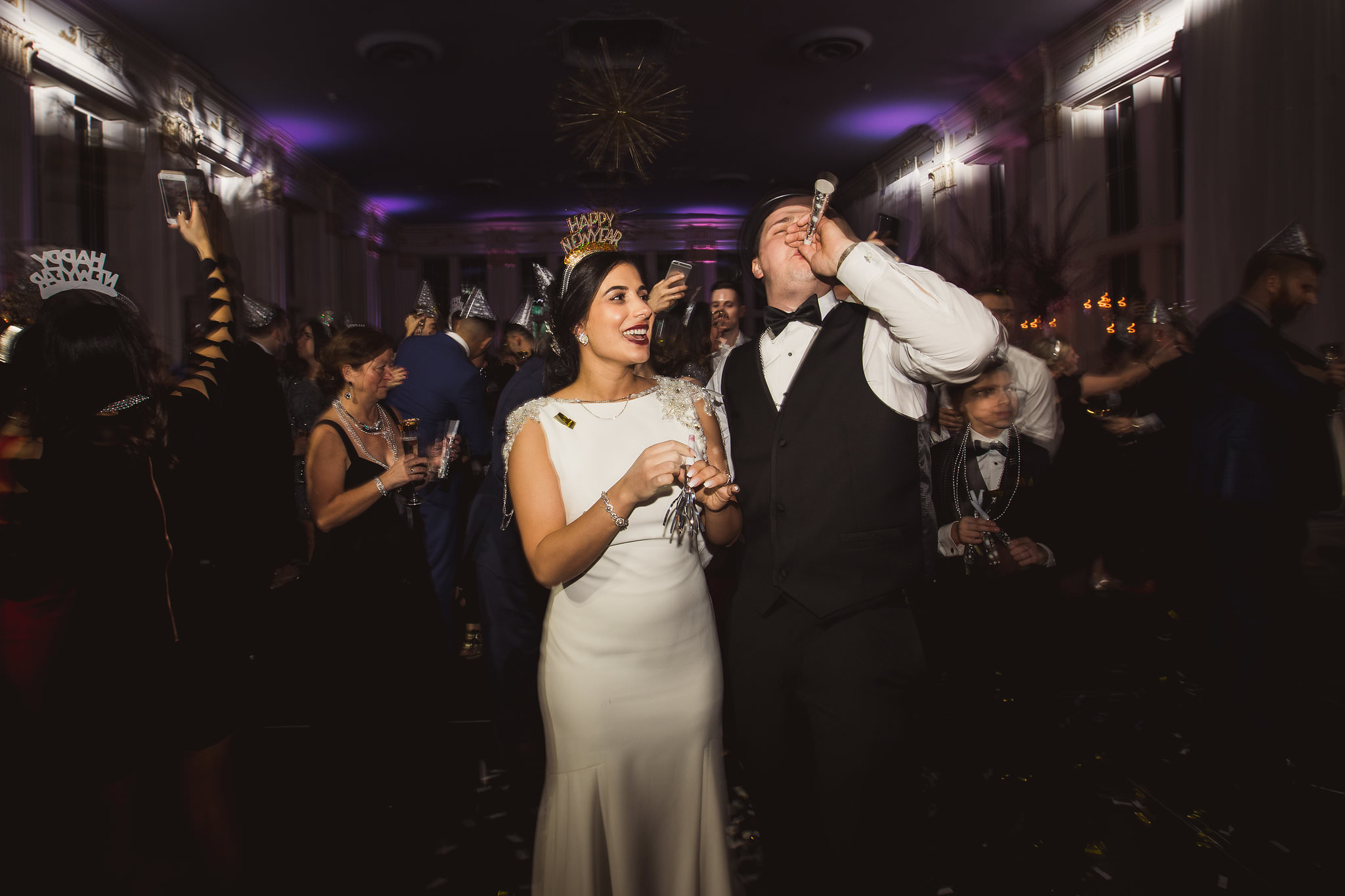 Rebecca Michael King Edward Hotel NYE Wedding Photos 888 - King Edward Hotel Wedding Photos