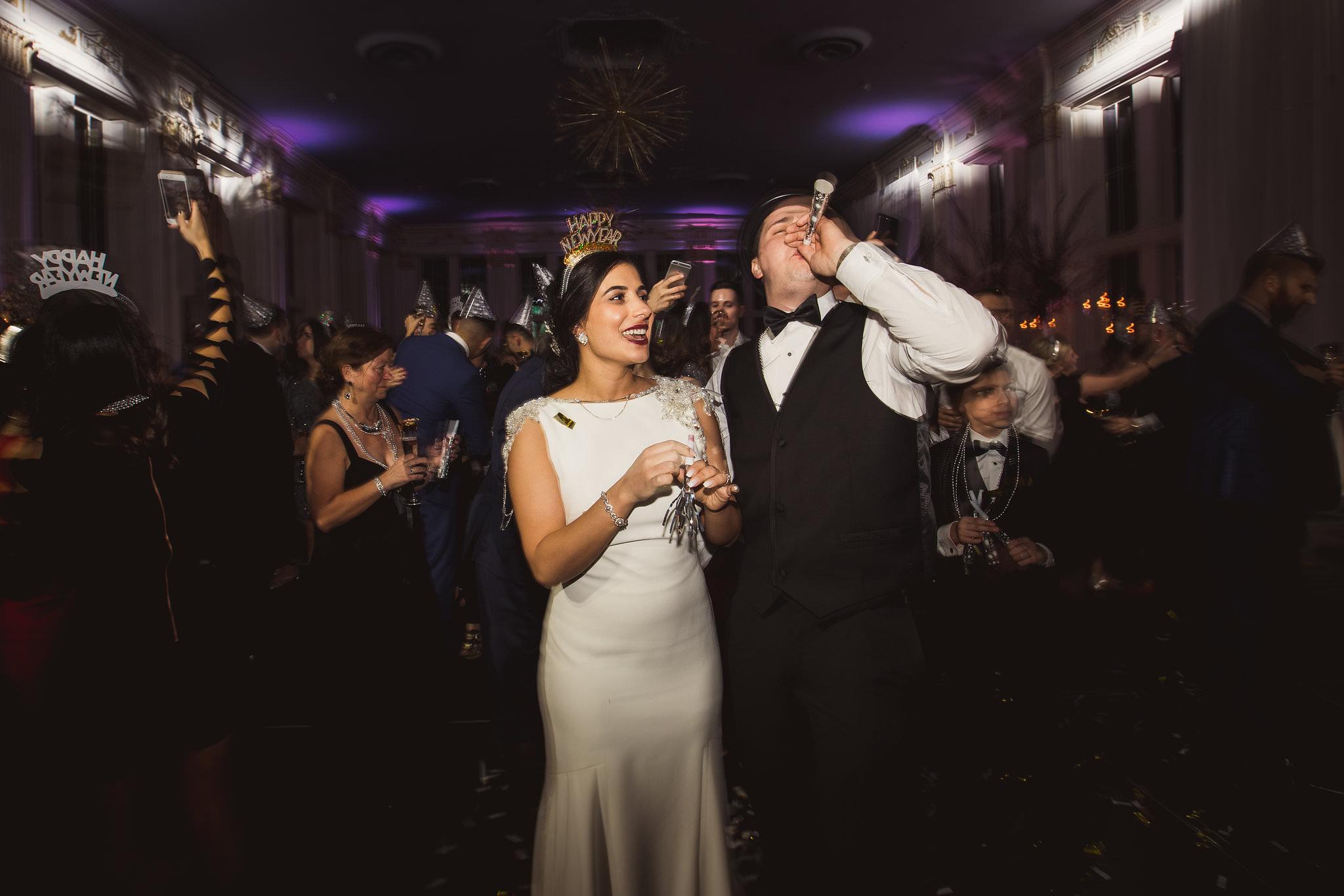 new years wedding toronto