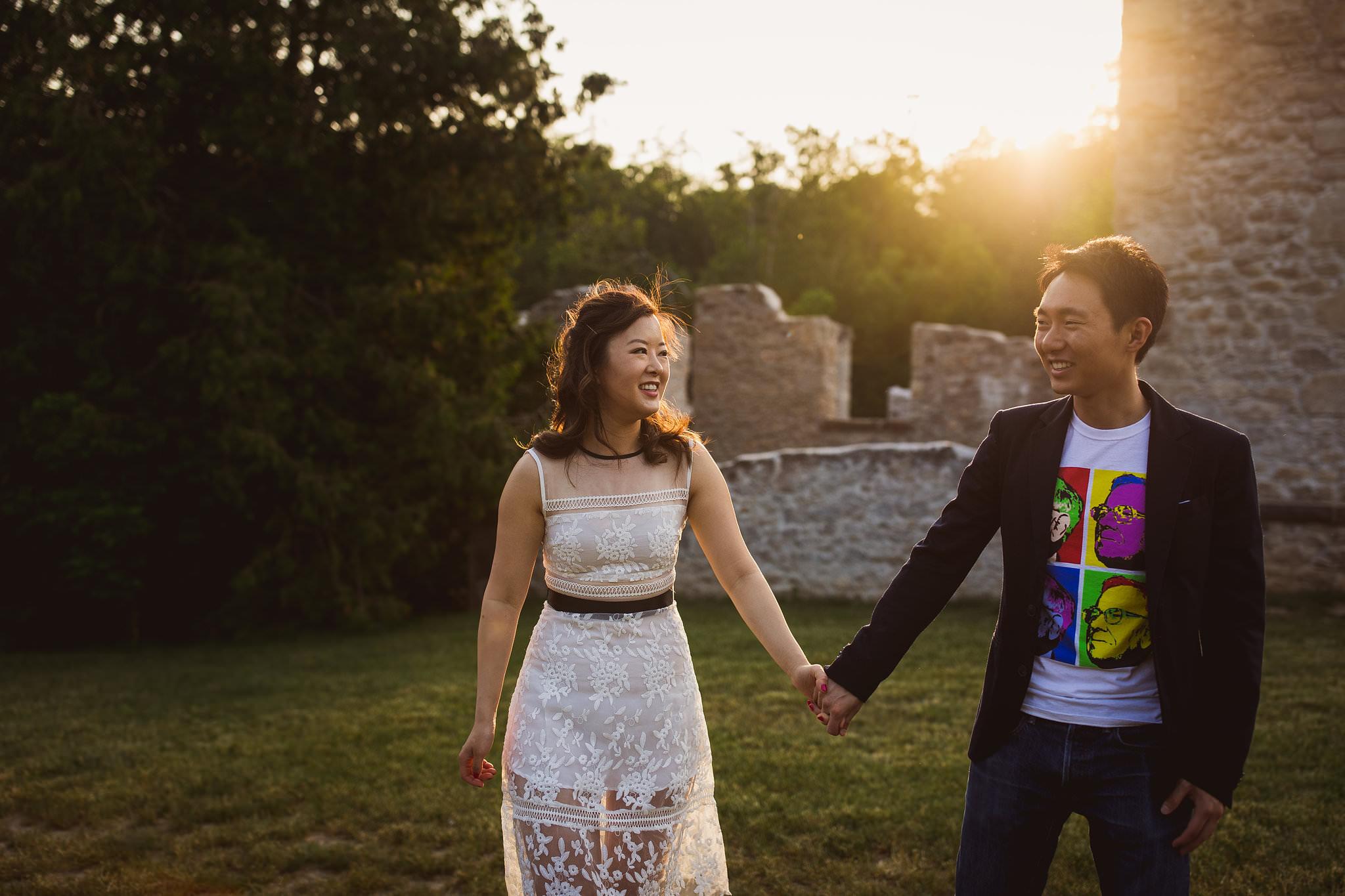 rockwood ruins wedding photos