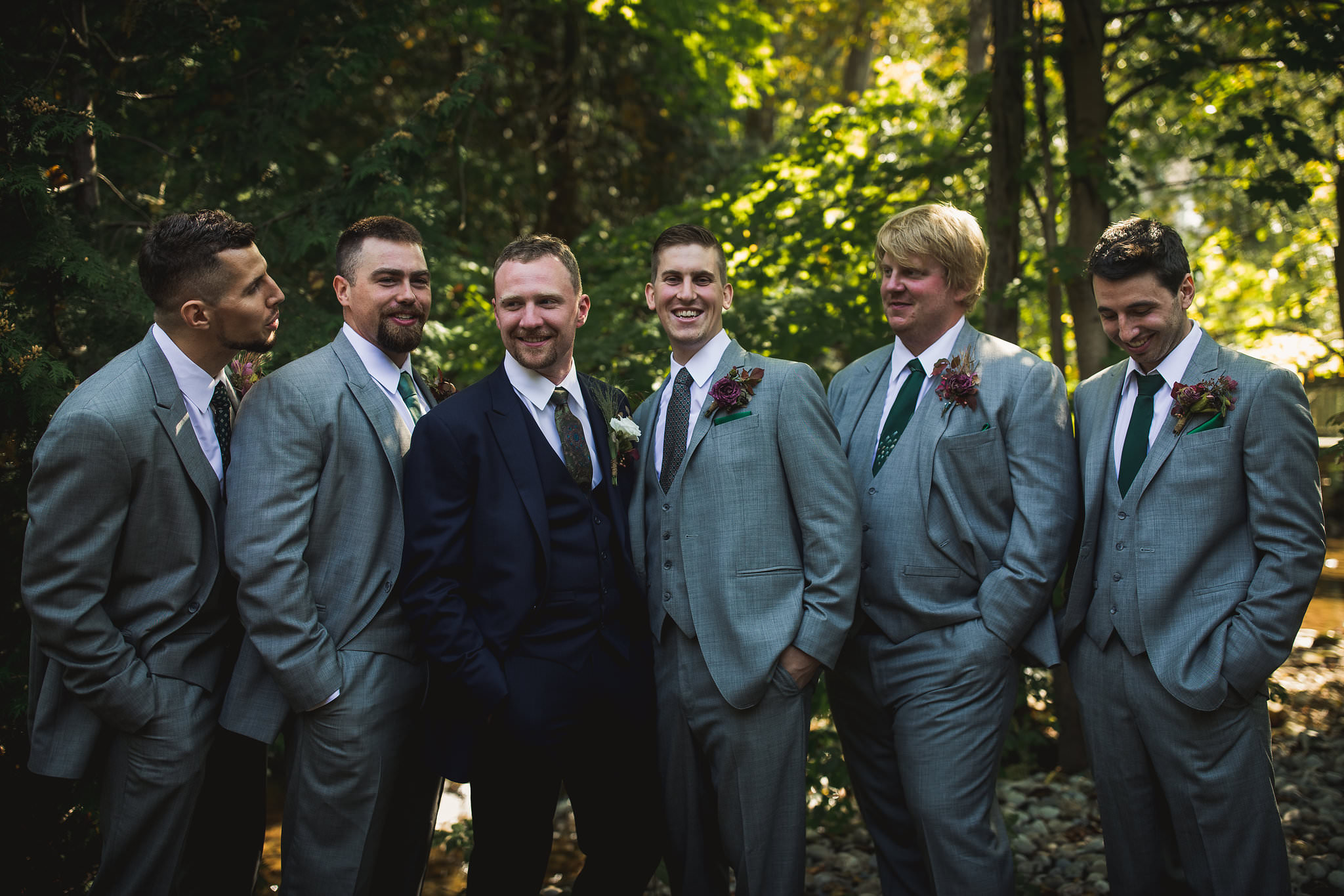 groomsmen at tralee wedding facility