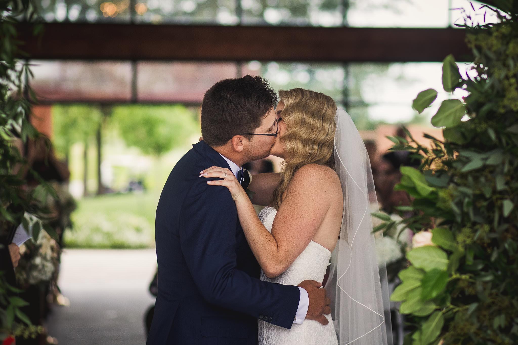 first kiss whistlebear garden chapel