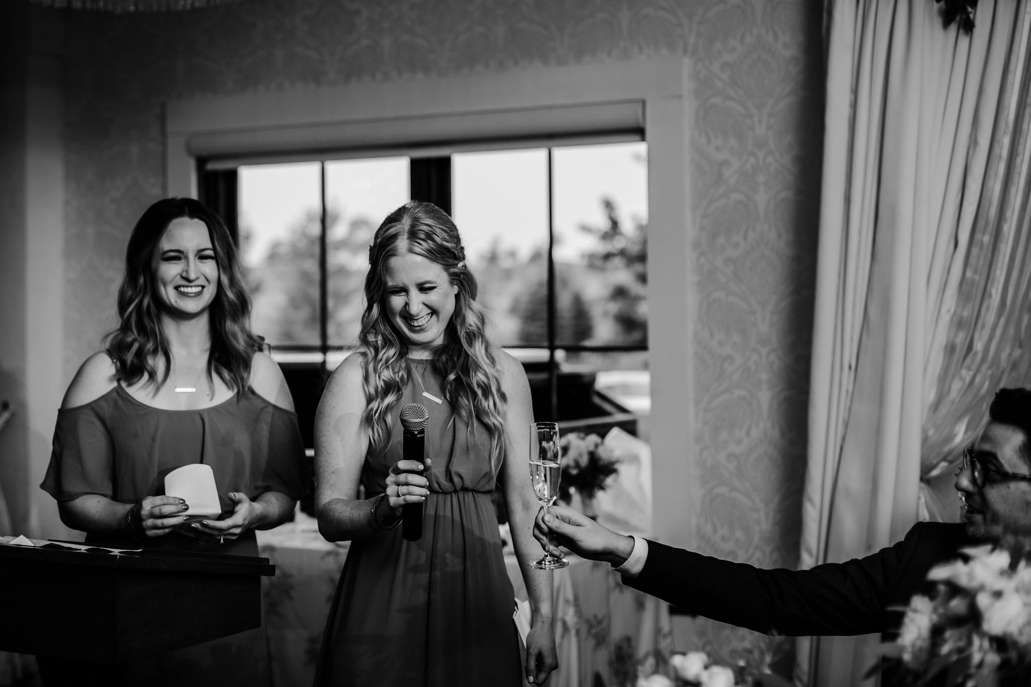 whistle bear wedding reception photos