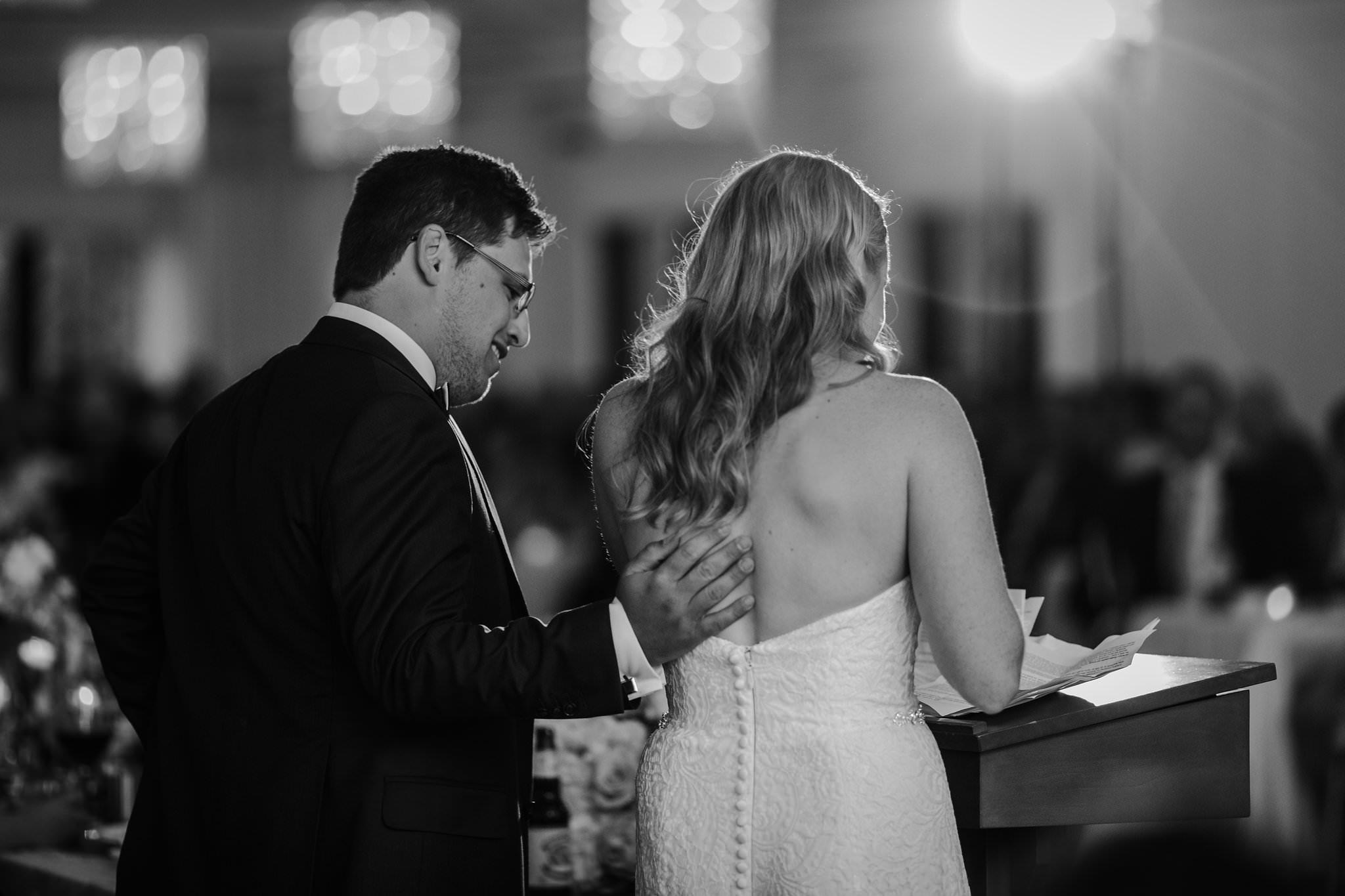whistle bear wedding speeches