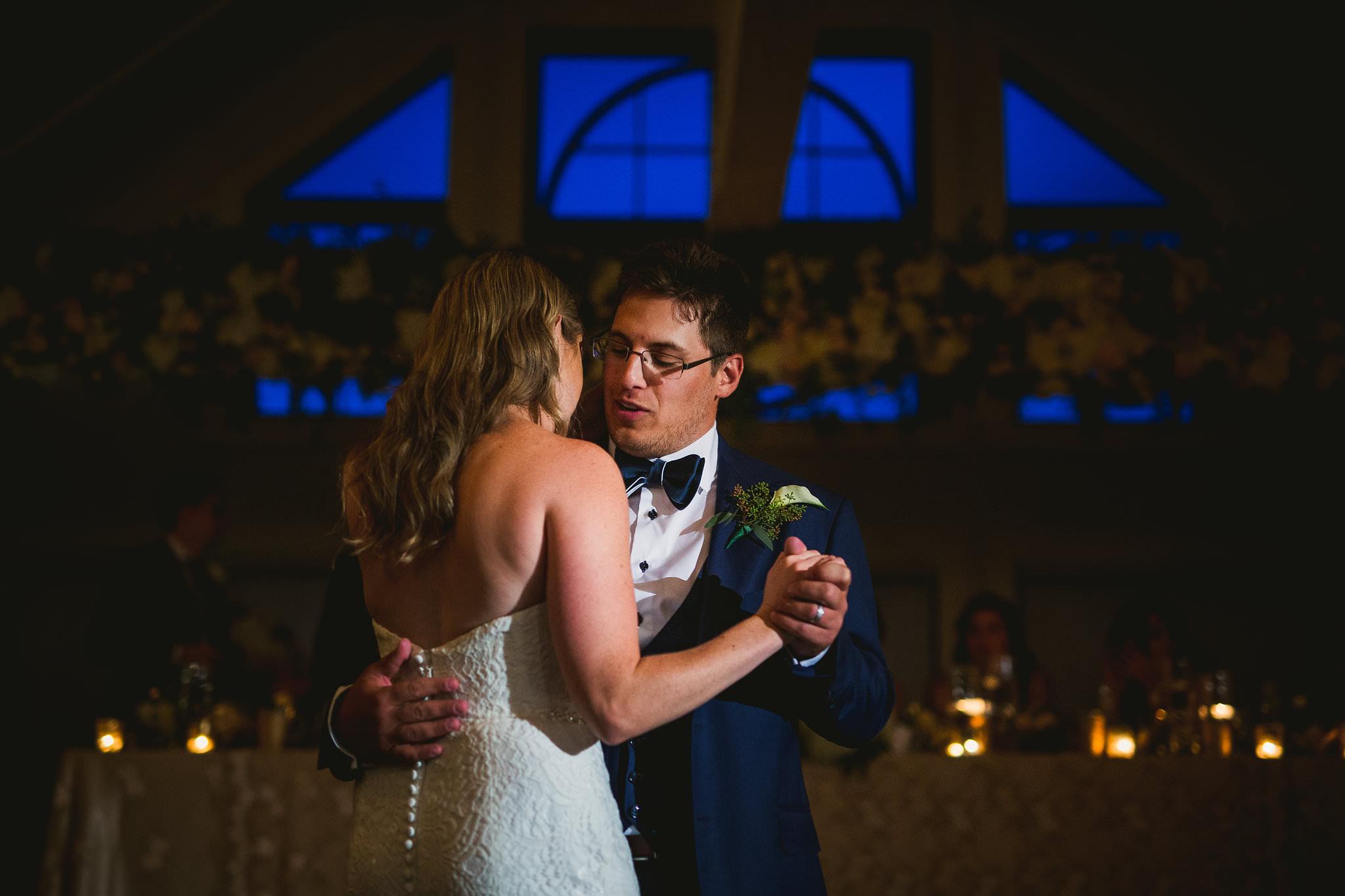 first dance whistle bear wedding
